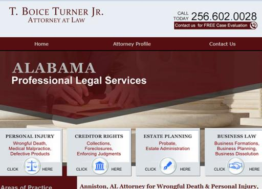T. Boice Turner Attorney at Law