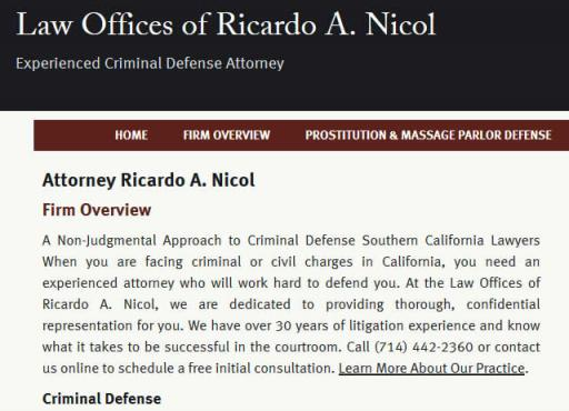 Law Offices of Ricardo A. Nicol