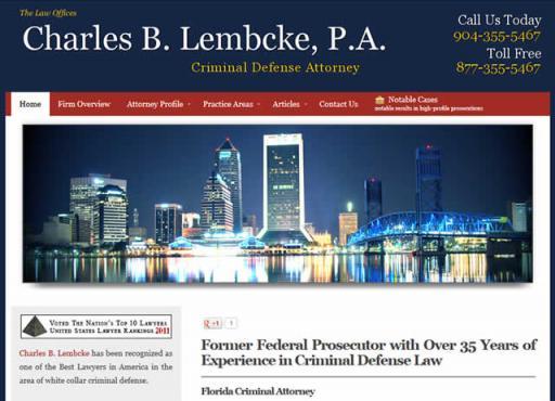 Charles B. Lembcke, P.A.