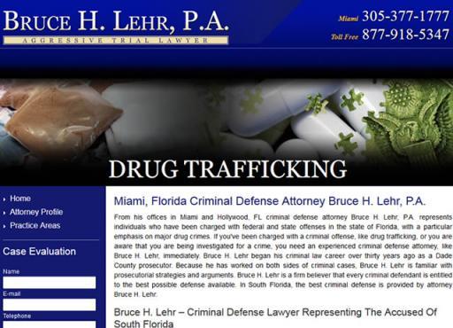 Bruce H. Lehr, P.A. - Drug Trafficking