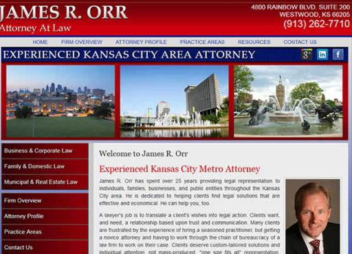 James R Orr Attorney at Law