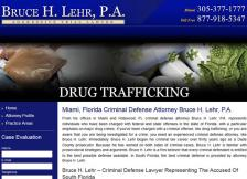 Bruce H. Lehr, P.A. - Drug Trafficking